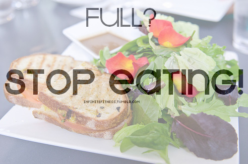 lovejesuseatpaleo:  followmydiet:  One of the hardest concepts to adjust to  Listen to your body - if it's in your mouth, it's a craving, not real hunger!
