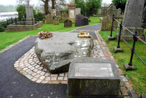 Saint Patrick's Grave in Downpatrick, Northern Ireland