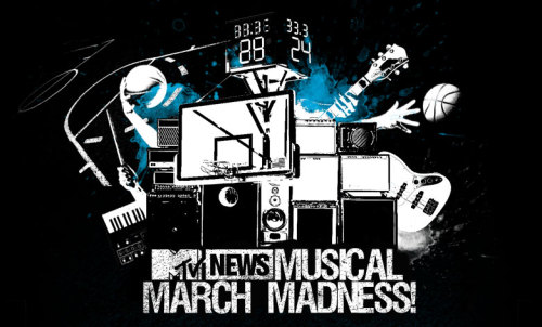 MTV's Musical March Madness has started and we're up against Red Hot Chili Peppers in the first round! Take a second and vote for us here.