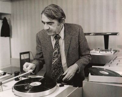Pierre Schaeffer: father of Musique Concrete and one of the first to make music from samples.