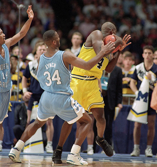 Michigan forward Chris Webber calls timeout during the waning seconds of the 1993 NCAA Championship game against North Carolina. Webber would be assessed a technical foul because the Wolverines had no timeouts left and the Tar Heels would go onto win the championship. Can top-seeded UNC win it again this year? (David E. Klutho/SI) BRACKET BREAKDOWNS: South | East | West | MidwestWINN: Answering the biggest NCAA bracket questionsMANDEL: Mid-majors pose the biggest bracket threat