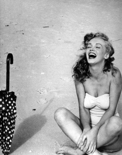 Marilyn laugh