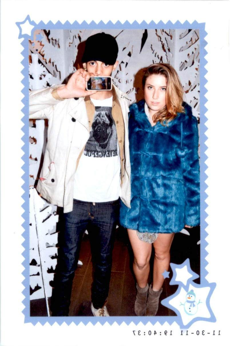 trynschimmy:  Me and Tyler at Topshop