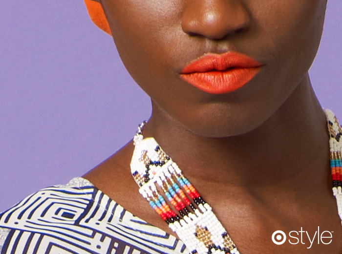 Beauty Corner The freshest lip for spring comes in Vitamin C orange. own it: lipstick.