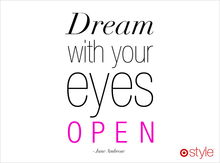 targetstyle:  Style wisdom from June Ambrose  …..
