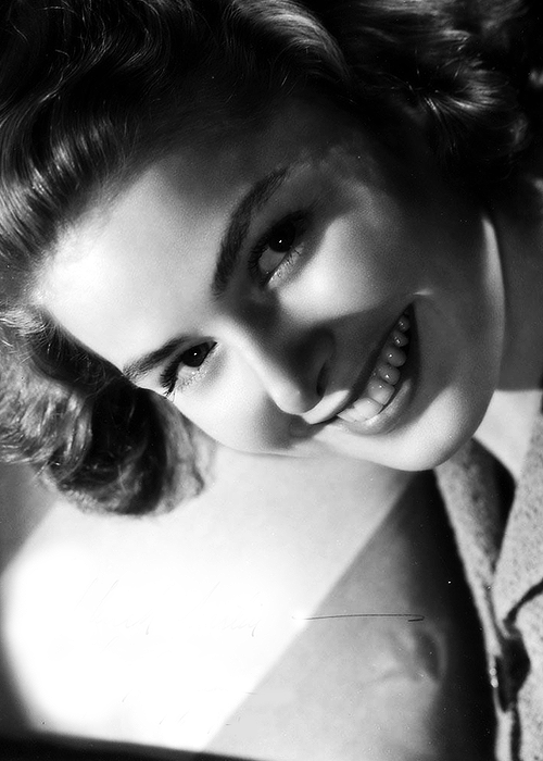 bellecs:  Ingrid Bergman, 1940s