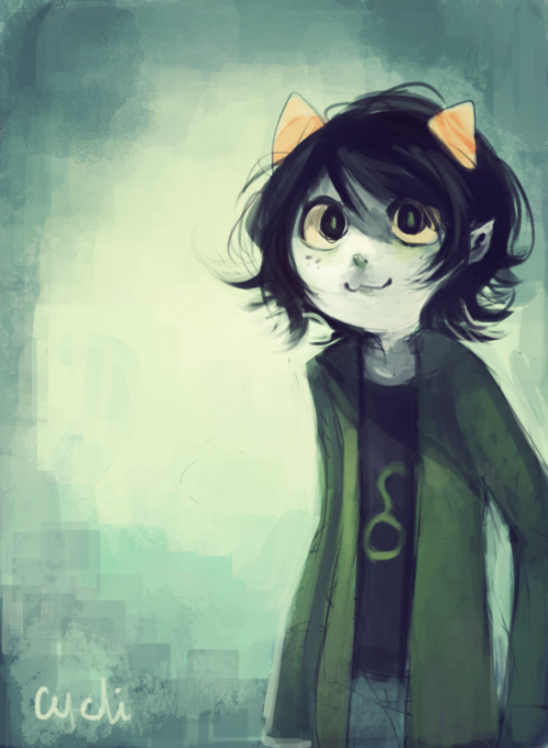 sylladexter:  Aaaand, some Nepeta art too.