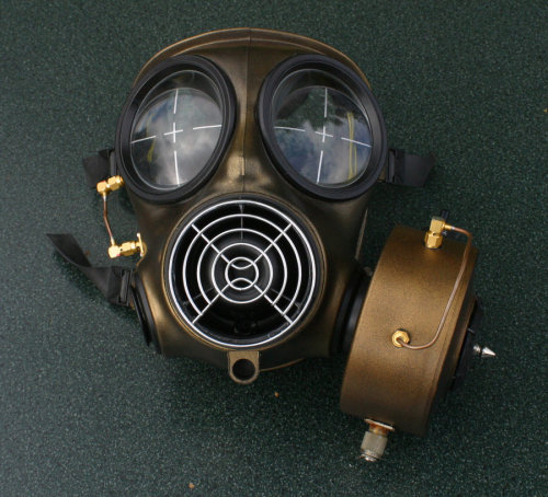 Steampunk Gasmask 3 by ~aikon359