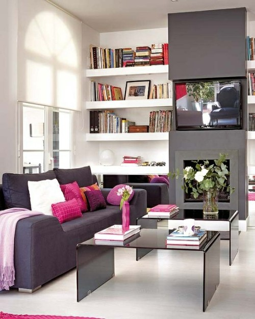 modern contemporary interiors