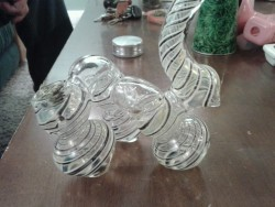 New glass only 10 more then the rasta bubble and way sicker.. gonna change colors and its a 3 perk