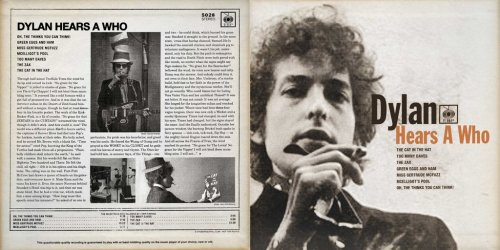 alexcornetto:  doomandgloomfromthetomb:  Dylan Hears A Who One of the Internet's greatest hits! This genius Zimmerman-Meets-Geisel album appeared a few years back, got hyped up and then was cease-and-desisted into oblivion by the Dr. Seuss Estate. Yes, the very same estate that eagerly gives its seal of approval to such masterpieces as this and this. Oh, well. Anyway, an anonymous donor recently hooked me up with Dylan Hears A Who, reminding me of its excellence. The album really is impressive in its detailed re-creation of Dylan's 1965-66 sound, and the way in which the vocalist maintains an uncanny Bob impression, even while spitting out some of Seuss' most tongue-twisting rhymes. While most Dylan impersonations are ill-informed cliches, this one is dead on, less a send-up than a loving homage. Overall, Dylan Hears A Who is a pretty enjoyable listen, even once the novelty wears off. There should be a sequel. Mr. Jones Can Moo, Can You?  Download  Quick, get this before they take it down again!