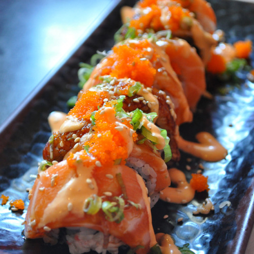 fooddrinkandmore:  Lion King Roll @ Maki & Sushi
