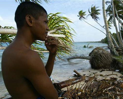 mothernaturenetwork:  The tragic irony of the island nations that are struggling against encroaching seas is that most of them don't have much of a carbon footprint. Many residents live without cars or electricity and subsist on food they catch or grow themselves. In fact, countries at the greatest risk from rising seas, such as Kiribati, the Marshall Islands and the Maldives, account for less than 0.1 percent of the total output of carbon dioxide emissions. (Combined, the U.S. and China account for nearly half.) Still, some of these nations are leading the world in reducing carbon emissions. How nations are coping with rising seas