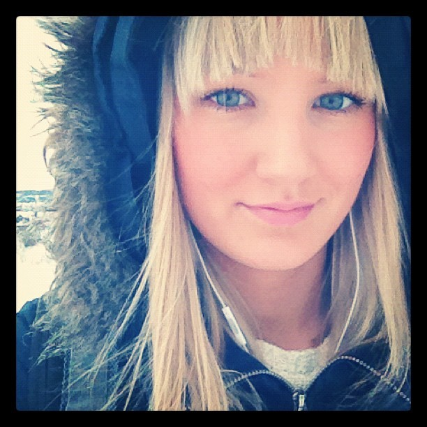 Ut på tur! #norwegian #girl #blonde #blueeyes  (Taken with instagram)