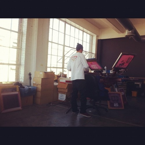 Print shop!!! #newstock #PRINTS #DTLA #WEEATIN #COS  (Taken with instagram)