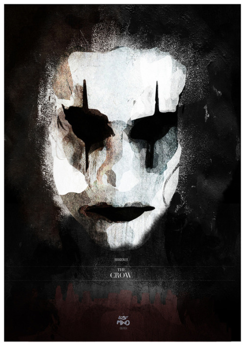 One of my favorite films… fuckyeahmovieposters:  The Crow by Lost Mind