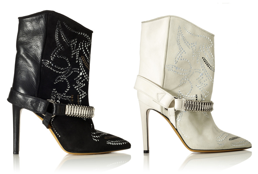 ISABEL MARANT 'Milwauke Boot' - Available at m'oda o'perandi