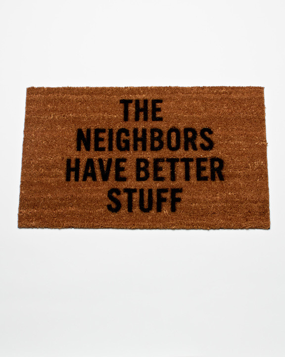 cool THREAT series / need this doormat
