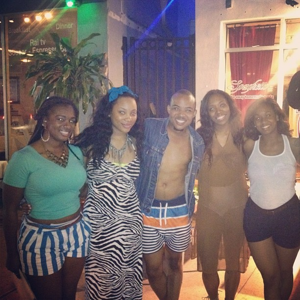 New friends from south beach! TSU AKAs (Taken with instagram)