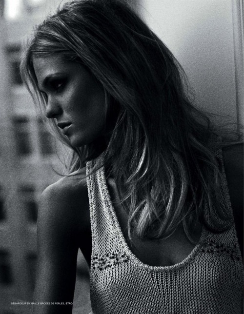 Erin Heatherton by Patrick Shaw for L'Officiel Paris May 2010.