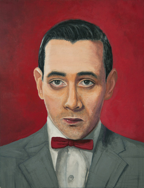 Pee-Wee Herman, A portrait by Jen Holland AKA Nerdifer. (via felixinclusis)