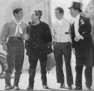 bonaventures:  LQ but… Clark Gable, Spencer Tracy, Robert Taylor, and William Powell hanging out on the MGM lot.