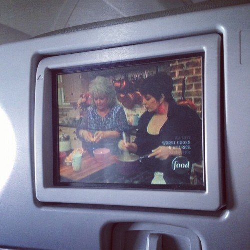 Paula and Liza, what geniuses. #inflight #sxsw (Taken with instagram)