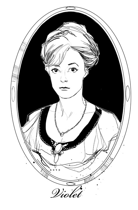philnoto:  Violet, future Countess of Grantham  Young Maggie Smith OMG