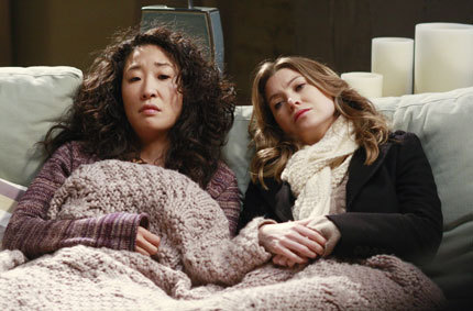 I want a best friendship like Meredith and Cristina.  No BS, dont hold back, dont let men come between them, down for each other through thick and thin but realistically sometimes want to murder each other.  I want someone in this world to be my person, dammit.
