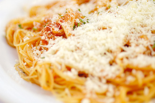 pasta-iloveyou:  Angel Hair with Pomodoro (Tomato)