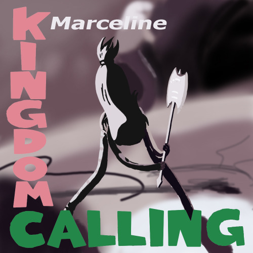 Adventure Time parody of record cover London Calling by The Clash original art by Ray Lowry and Penny Smith art by anonymous