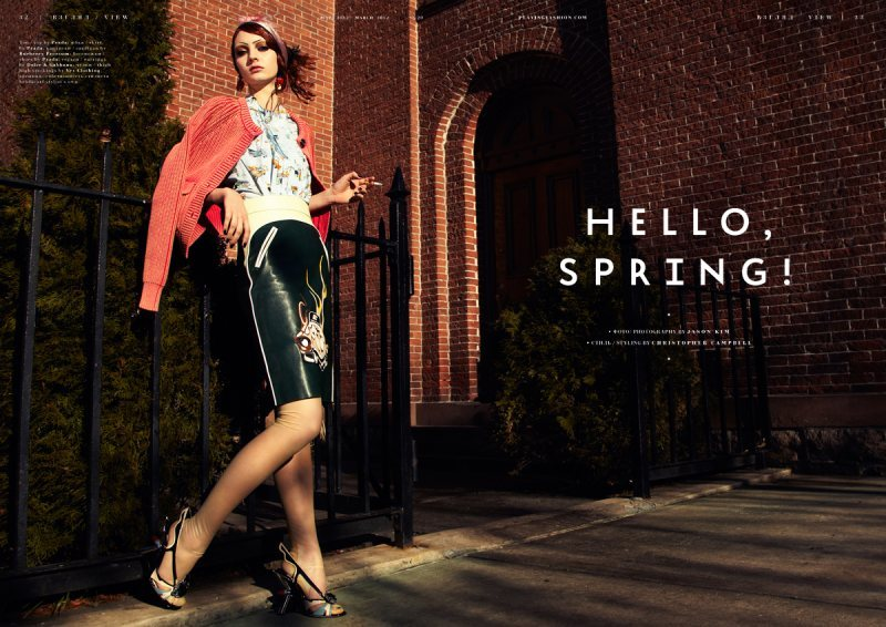 Hello, Spring! Playing Fashion Marzo 2012 Codie Young por Jason Kim. Estilismo de Christopher Campbell. ….. Playing Fashion March 2012 Codie Young by Jason Kim. Styling by Christopher Campbell.