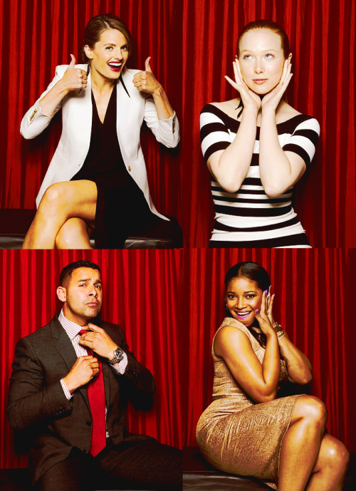 ashleyelizabeth1020:  Castle photo booth at PaleyFest