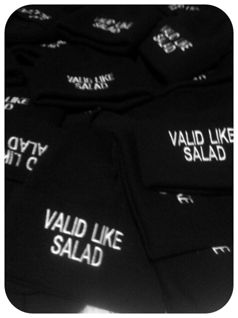 pandalovestosmile:  mystyledope:  Valid Like Salad Hats .. $30 March 17   (via imgTumble)