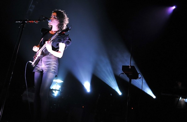 Annie Clark of St. Vincent performs