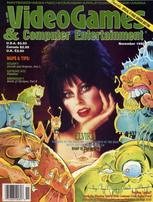 Video Games & Computer Entertainment magazine.