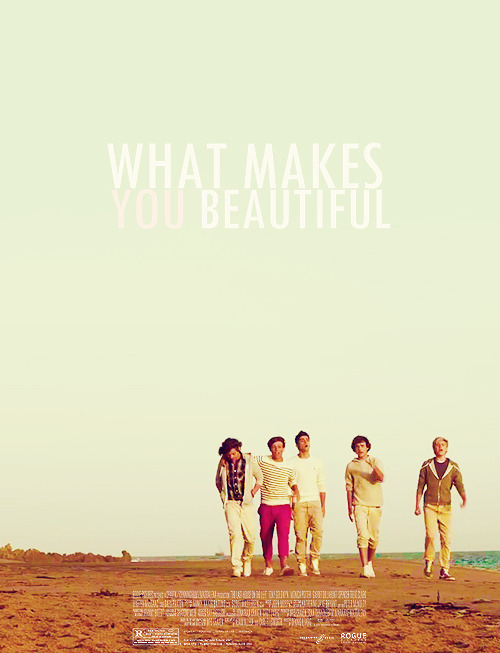 swagmasterlou:   One Direction movie cover: what makes you beautiful  (via imgTumble)