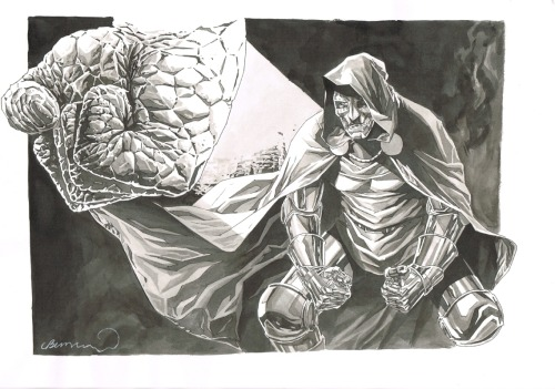 awyeahcomics:  Doctor Doom by Lee Bermejo