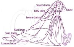 gonnabeamrs:  Know your veil lengths :)