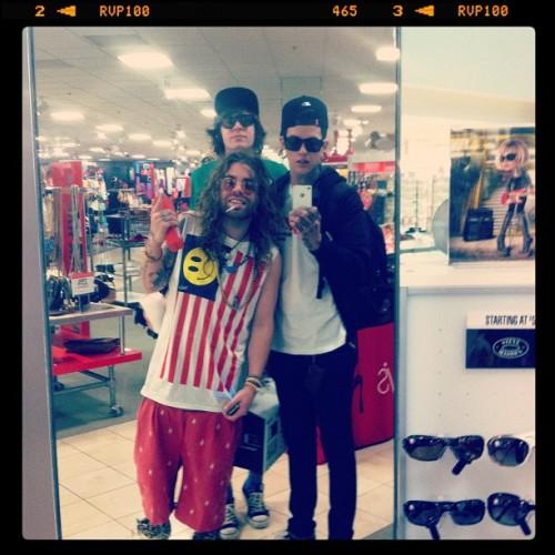 ilovetmills:  find @modsun @thepatbrown & I in a mall near you (Taken with instagram)