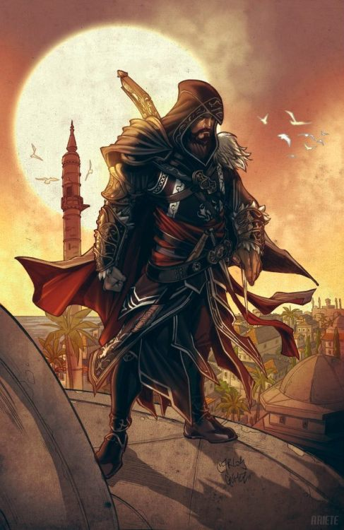 xombiedirge:  Assassin's Creed: Revelations by Guillermo Ariete & Carlos Gomez