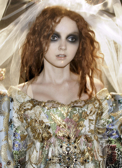 the-moth-princess:  Lily Cole//Christian Lacroix