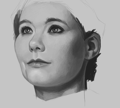 workin' on a Bjork piece ;)