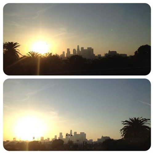 My Beautiful LA!!! ❤#la #beautiful #instagram #sun #hollywood #city #losangeles #Sunset #photooftheday #photoglobe #Downtown #Freeway #freewayshot #Iphone4s #inspiration  (Taken with instagram)