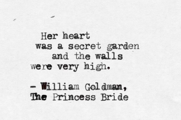typewrittenword:  The Princess Bride by William Goldman