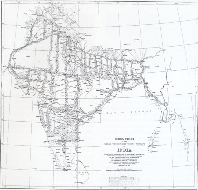 Great Trigonometrical Survey of India (Börner's Atlas of Science) via deconcrete