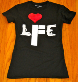 The Love LI.F.E Tee @ www.innerflydom.com