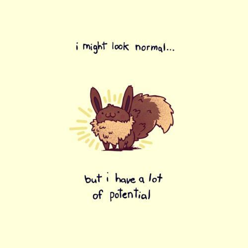 I have potential ^_^ #Pokemon