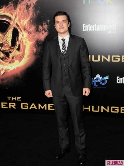 Josh Hutcherson is suited and sexy at 'Hunger Games' premiere