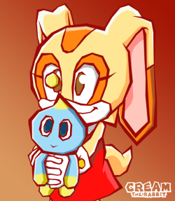 Cream The Rabbit by ~spikestrife